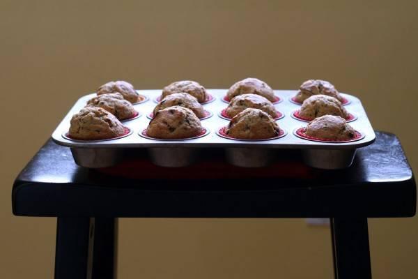 choc cherry muffins 1
